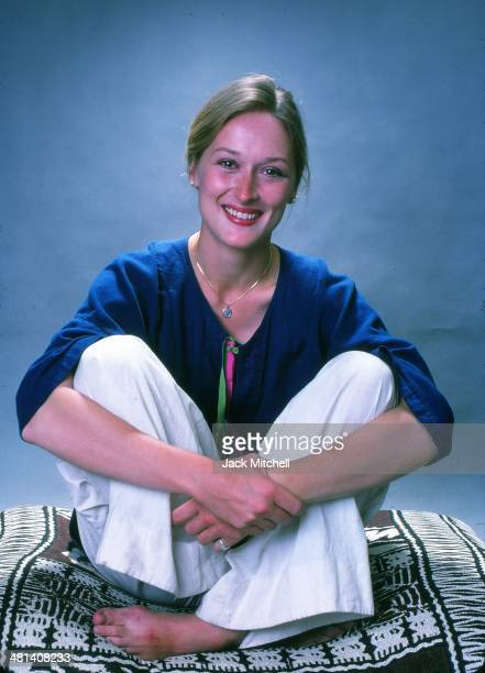 Actress Meryl Streep photographed in August 1976.