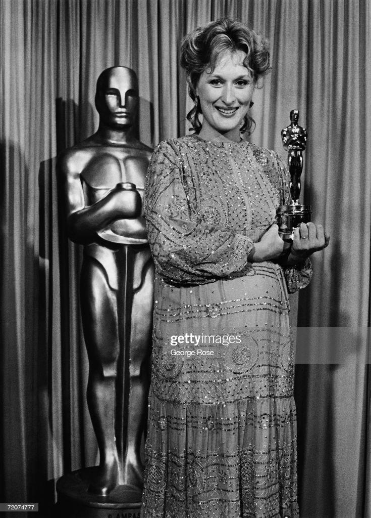 Meryl Streep Win Academy Award : News Photo