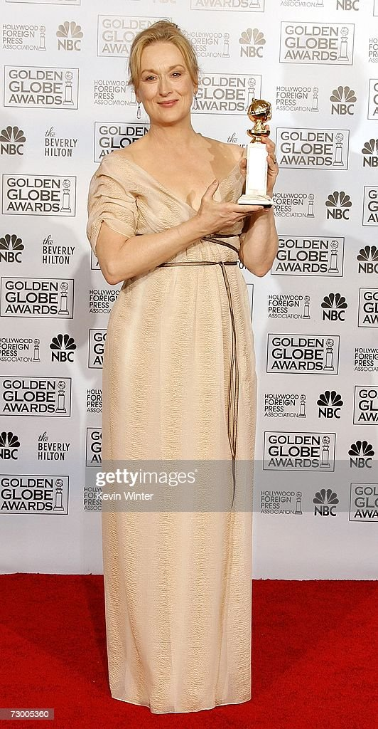 The 64th Annual Golden Globe Awards - Press Room
