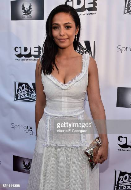 Actress Meta Golding attends a screening of Good Deed Entertainment's All Nighter at Ahrya Fine Arts Theater on March 15 2017 in Beverly Hills...