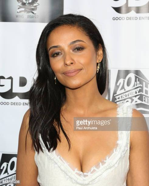 Actress Meta Golding attends the screening of All Nighter at Ahrya Fine Arts Theater on March 15 2017 in Beverly Hills California