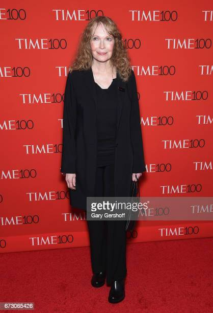 Actress Mia Farrow attends the Time 100 Gala at Frederick P Rose Hall Jazz at Lincoln Center on April 25 2017 in New York City