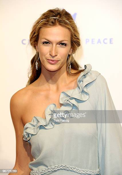 Actress Mia Florentine Weiss attends the Annual Cinema For Peace Gala during day five of the 60th Berlin International Film Festival at the...