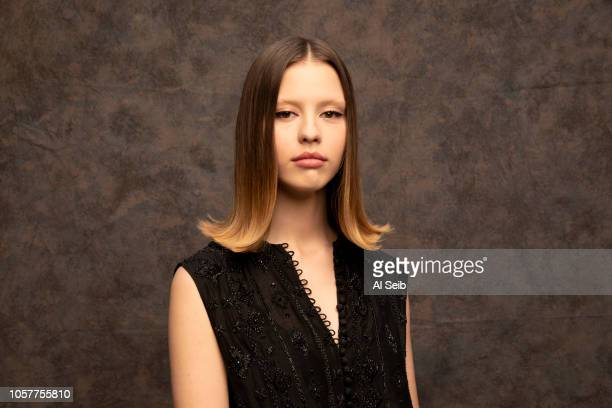 Actress Mia Goth is photographed for Los Angeles Times on October 24 2018 in Los Angeles California PUBLISHED IMAGE CREDIT MUST READ Al Seib/Los...