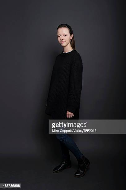 Actress Mia Goth is photographed for Variety at the Tribeca Film Festival on April 16 2015 in New York City