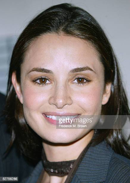 Actress Mia Maestro attends the 31st Annual Saturn Awards at the Universal Hilton Hotel on May 3 2005 in Los Angeles California