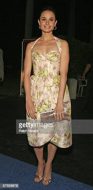 "Actress Mia Maestro attends the ""Poseidon"" screenng VIP Gala on May 8, 2006 in Miami, Florida."