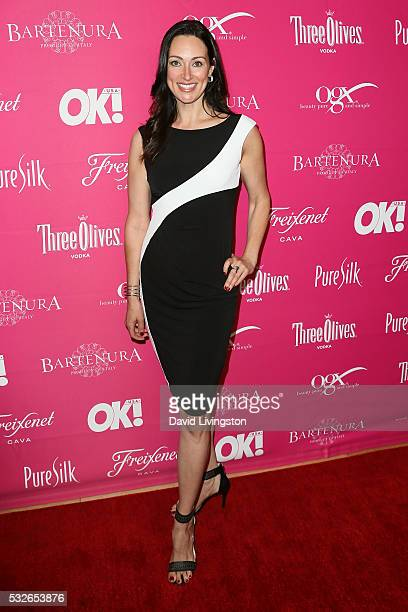 Actress Mia Mastroianni arrives at the OK Magazine's So Sexy LA at the Skybar at Mondrian on May 18 2016 in West Hollywood California