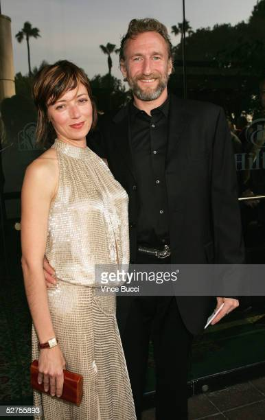 Actress Mia Sara and producer Brian Henson attend the 31st Annual Saturn Awards at the Universal Hilton on May 3 2005 in Los Angeles California