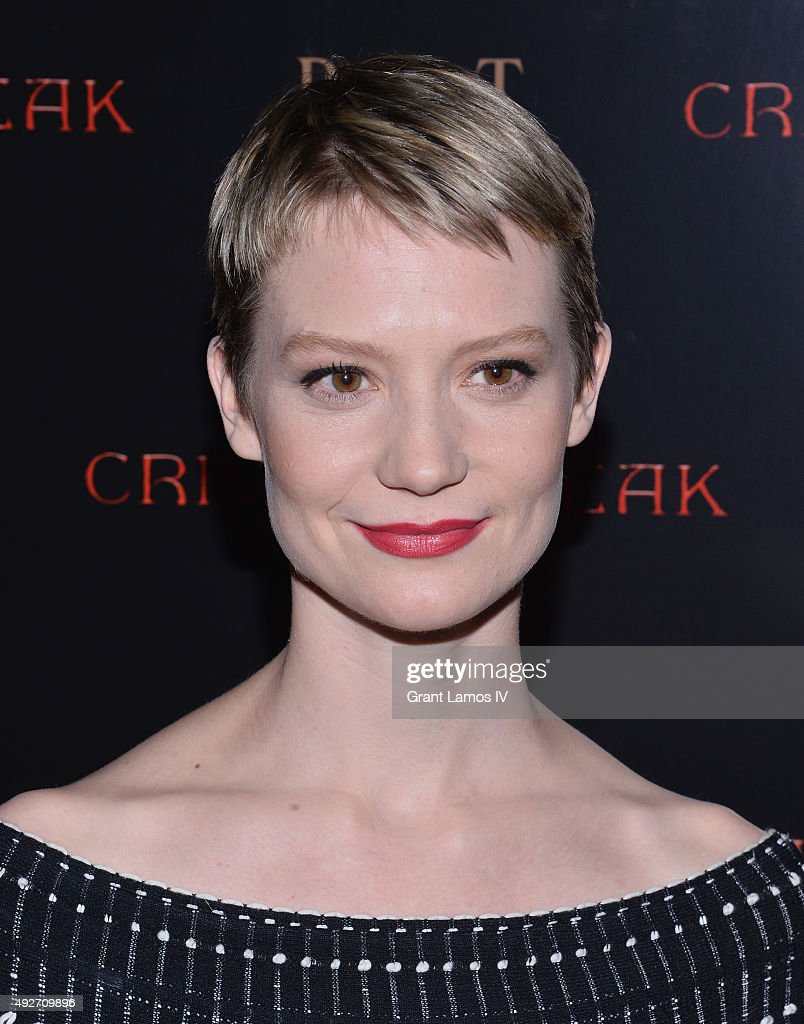 Actress Mia Wasikowska attends 'Crimson Peak' New York Premiere at AMC Loews Lincoln Square on October 14, 2015 in New York City.