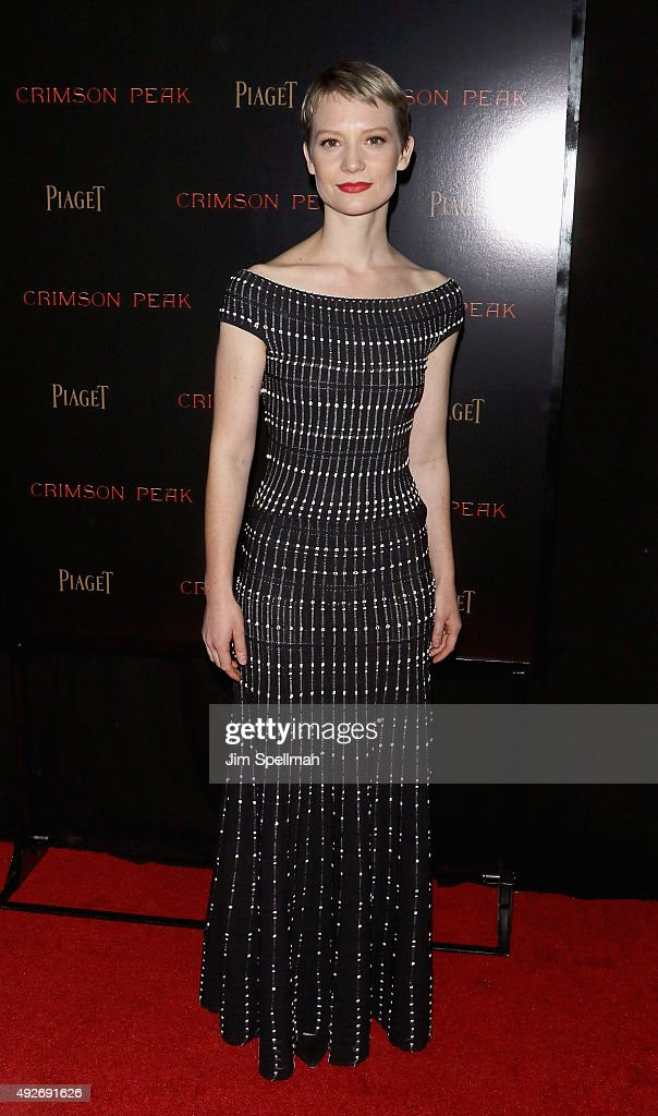 """Crimson Peak"" New York Premiere - Inside Arrivals"