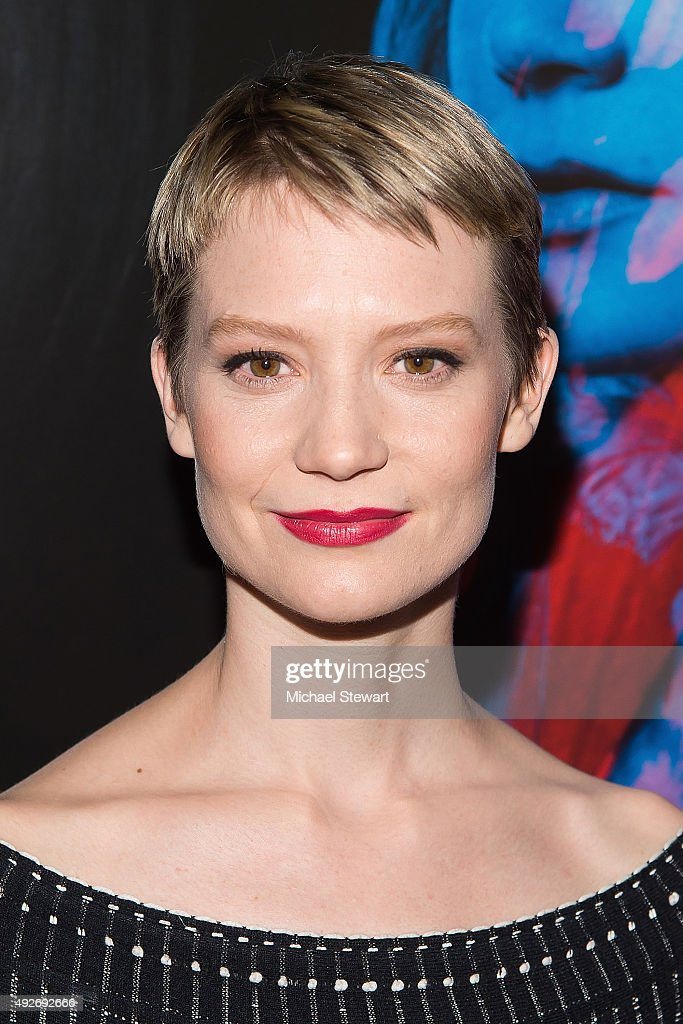 Actress Mia Wasikowska attends the 'Crimson Peak' New York premiere at AMC Loews Lincoln Square on October 14, 2015 in New York City.