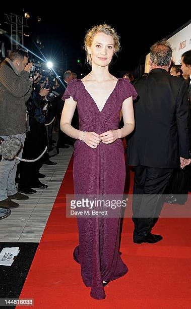 Actress Mia Wasikowska attends the 'Lawless' after party hosted by Manuele Malenotti Johnnie Walker Blue Label and Chopard during the 65th Cannes...