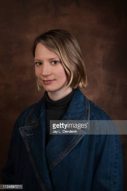 Actress Mia Wasikowska from 'Judy and Punch' is photographed for Los Angeles Times on January 28 2019 at the 2019 Sundance Film Festival in Salt Lake...