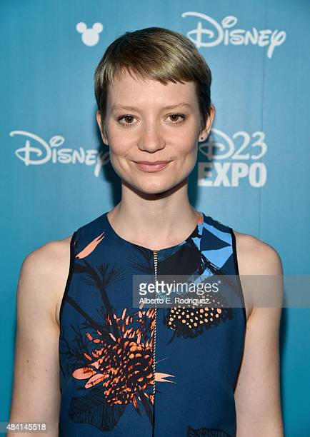 Actress Mia Wasikowska of ALICE THROUGH THE LOOKING GLASS took part today in 'Worlds Galaxies and Universes Live Action at The Walt Disney Studios'...