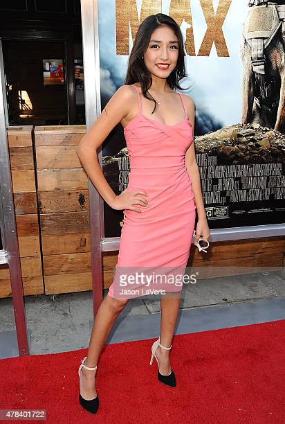 Actress Mia Xitlali attends the premiere of MAX at the Egyptian Theatre on June 23 2015 in Hollywood California