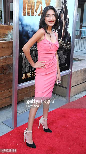 Actress Mia Xitlali attends the Premiere of Warner Bros. Pictures and Metro-Goldwyn-Mayer Pictures 'Max' held at the Egyptian Theatre on June 23,...