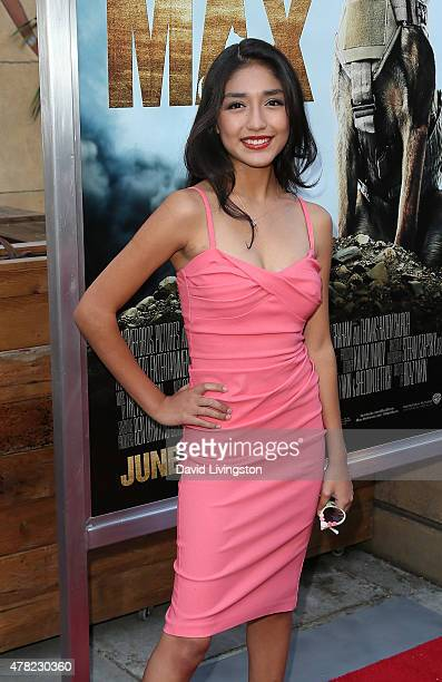 """Actress Mia Xitlali attends the premiere of Warner Bros. Pictures and Metro-Goldwyn-Mayer Pictures' """"Max"""" at the Egyptian Theatre on June 23, 2015 in..."""