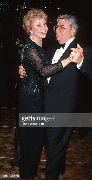 Actress Michael Learned and husband John Doherty attend 48th Annual Tony Awards Gala on June 12 1994 at the Marriott Marquis Hotel in New York City