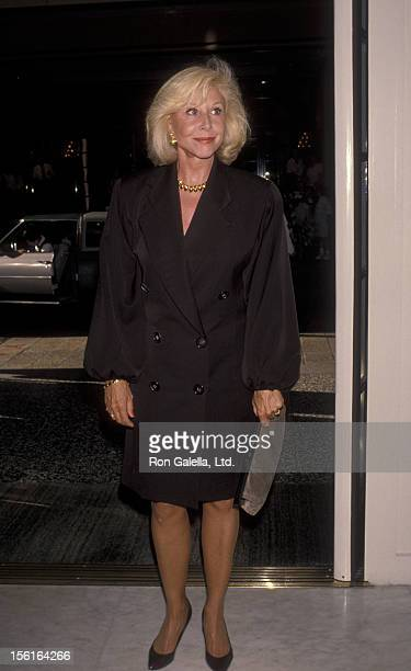 Actress Michael Learned attends 65th Birthday Party for George Murphy on June 23 1990 at the Beverly Wilshire Hotel in Beverly Hills California