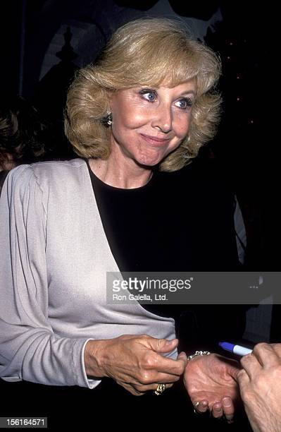 Actress Michael Learned attends ABC Press Party on July 19 1989 at Chasen's Restaurant in Beverly Hills California