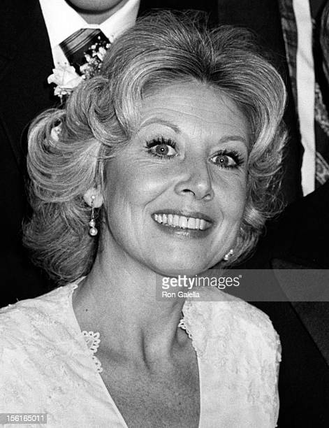 Actress Michael Learned attends Michael LearnedWilliam Parker Wedding Reception on December 18 1979 at Jacques Restaurant in New York City