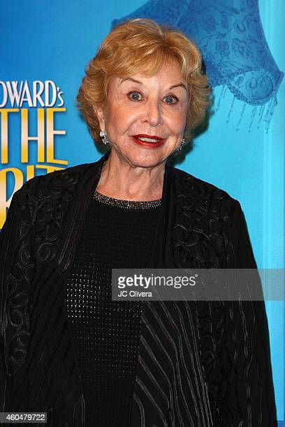Actress Michael Learned attends Noel Coward's 'Blithe Spirit' at Ahmanson Theatre on December 14 2014 in Los Angeles California