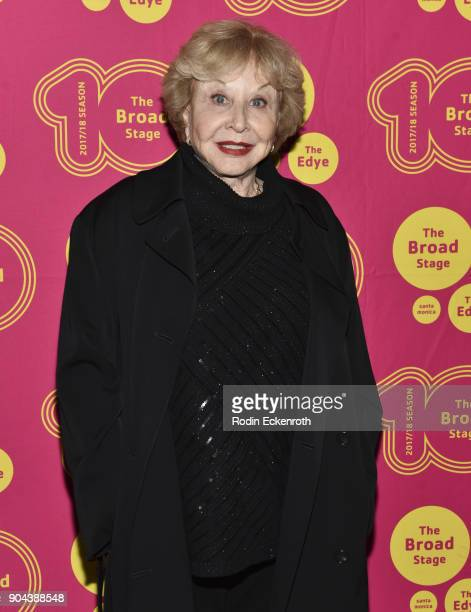 Actress Michael Learned attends 'Small Mouth Sounds' opening night at The Eli and Edythe Broad Stage on January 12 2018 in Santa Monica California