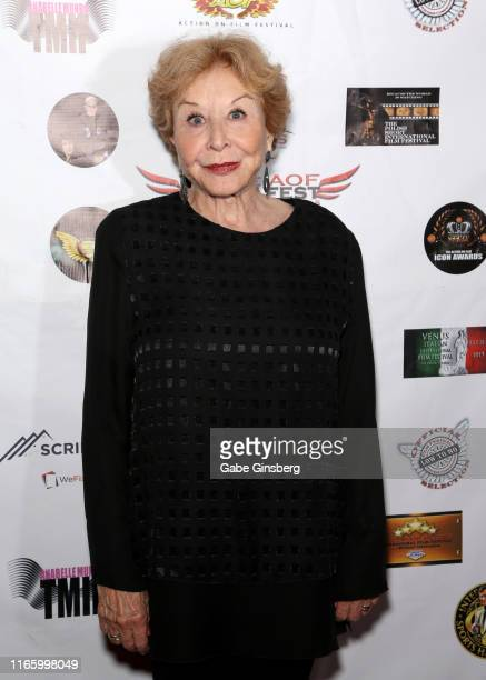 Actress Michael Learned attends the Action on Film MEGAFest International Film Festival at the Rio Hotel Casino on August 3 2019 in Las Vegas Nevada