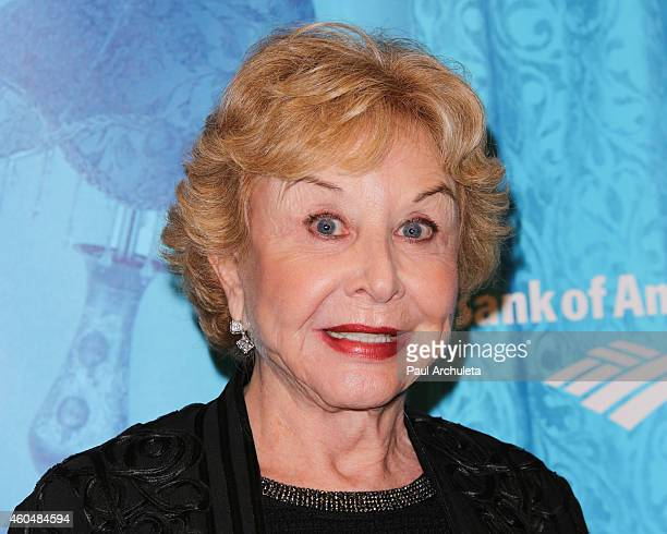 Actress Michael Learned attends the Blithe Spirit opening night performance at The Ahmanson Theatre on December 14 2014 in Los Angeles California