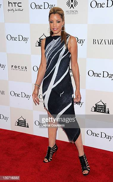 Actress Michael Michele poses for a photo on the red carpet at the One Day premiere at the AMC Loews Lincoln Square 13 theater on August 8 2011 in...