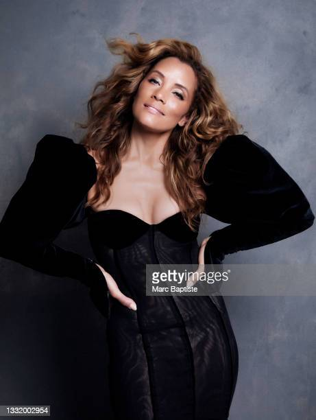 Actress Michael Michele poses for a portrait on July 1, 2021 in Atlanta, Georgia.