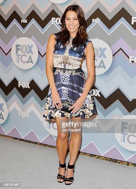 Actress Michaela Conlin arrives at the 2013 Winter TCA FOX AllStar Party at The Langham Huntington Hotel and Spa on January 8 2013 in Pasadena...