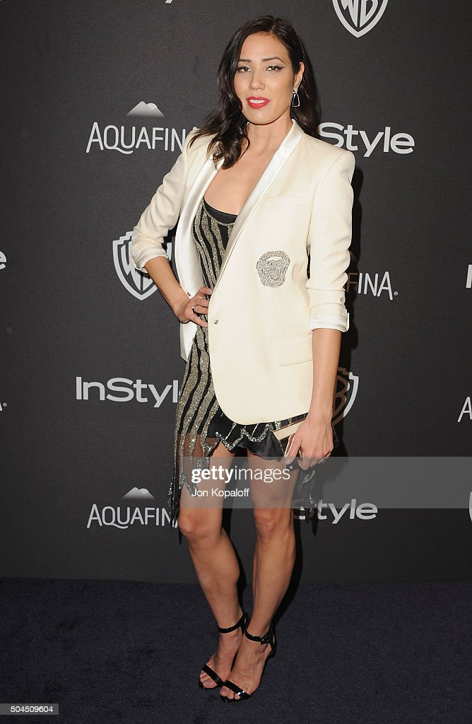 Actress Michaela Conlin arrives at the 2016 InStyle And Warner Bros. 73rd Annual Golden Globe Awards Post-Party at The Beverly Hilton Hotel on January 10, 2016 in Beverly Hills, California.
