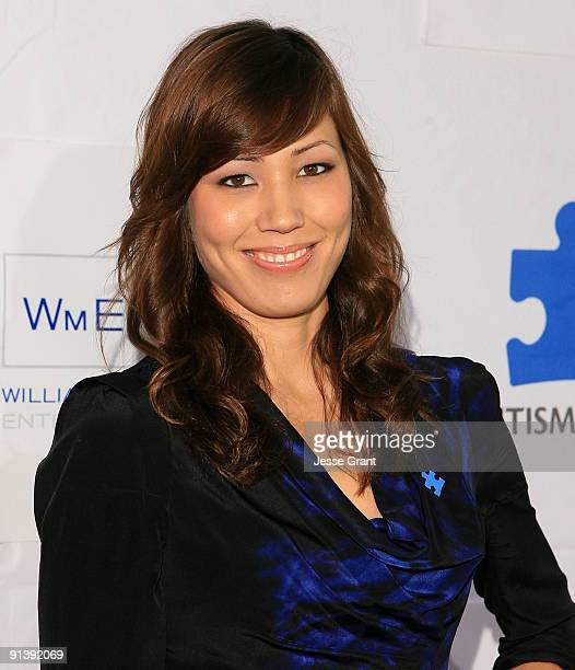 Actress Michaela Conlin arrives at the Autism Speaks' 7th Annual Acts Of Love Benefit at The Broad Stage on October 3 2009 in Santa Monica California