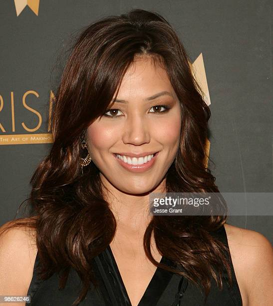 Actress Michaela Conlin arrives to the 14th Annual Prism Awards at the Beverly Hills Hotel on April 22 2010 in Beverly Hills California