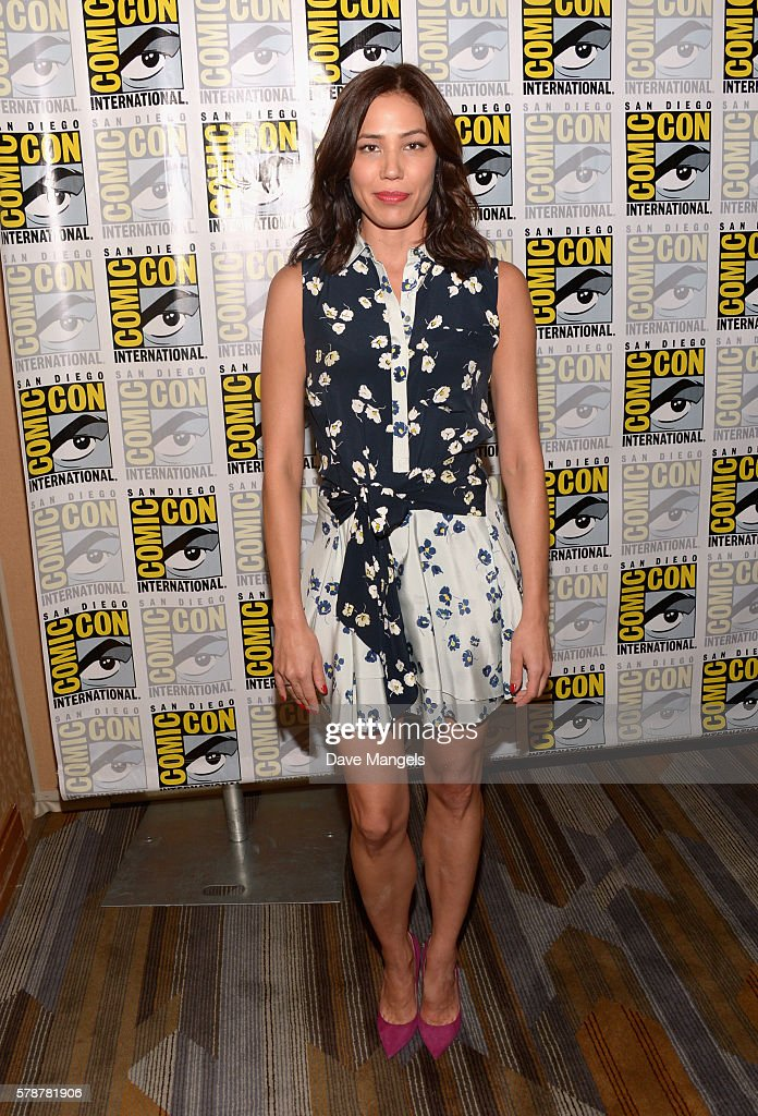 Actress Michaela Conlin attends Comic-Con International 2016 'Bones' press line at Hilton Bayfront on July 22, 2016 in San Diego, California.
