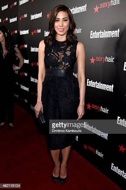 Actress Michaela Conlin attends Entertainment Weekly's celebration honoring the 2015 SAG awards nominees at Chateau Marmont on January 24 2015 in Los...