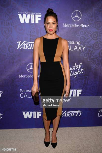 Actress Michaela Conlin attends Variety and Women in Film Emmy Nominee Celebration powered by Samsung Galaxy on August 23, 2014 in West Hollywood,...