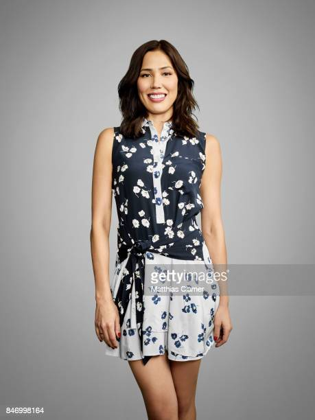Actress Michaela Conlin from 'Bones' is photographed for Entertainment Weekly Magazine on July 22 2016 at Comic Con in the Hard Rock Hotel in San...