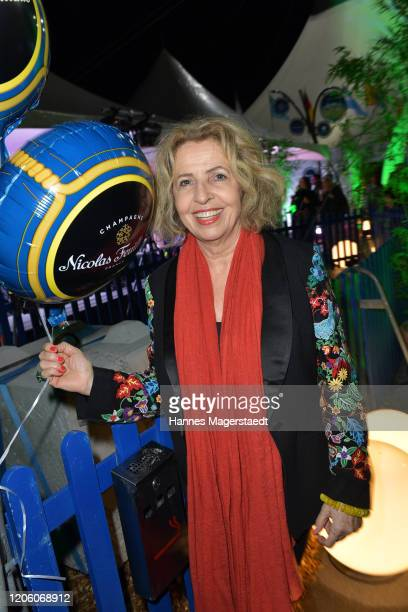 Actress Michaela May attends the premiere of Totem by Cirque du Soleil at Theresienwiese on February 13 2020 in Munich Germany