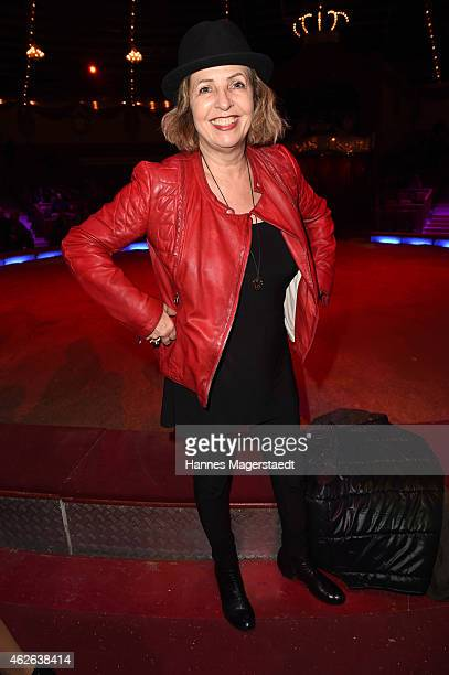 Actress Michaela May attends the 'Wunderwelt der Manege' Circus Krone Premiere on February 1, 2015 in Munich, Germany.