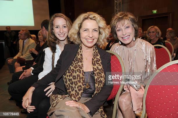 Actress Michaela May her daughter Lilian Schiffer and AnnKathrin Kuehnemann attend the Gabriele Blachnik atumn and winter 2010 / 2011 fashion...