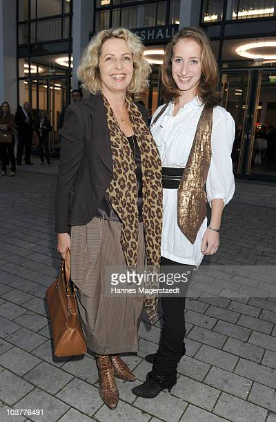 Actress Michaela May her daughter Lilian Schiffer attend the Gabriele Blachnik atumn and winter 2010 / 2011 fashion collection at the Alte...