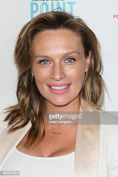 Actress Michaela McManus arrives at Raising The Bar To End Parkinson's at Laurel Point on July 27, 2016 in Studio City, California.
