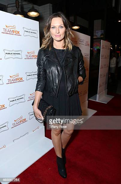 Actress Michaela McManus attends Raising The Bar To End Parkinson's at Public School 818 on March 7, 2015 in Sherman Oaks, California.