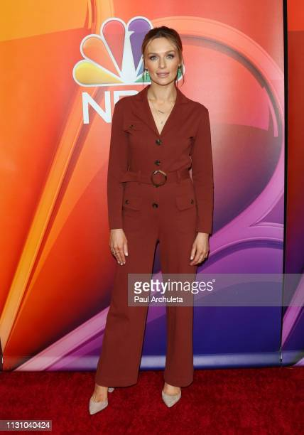Actress Michaela McManus attends the NBC's Los Angeles mid-season press junket at NBC Universal Lot on February 20, 2019 in Universal City,...