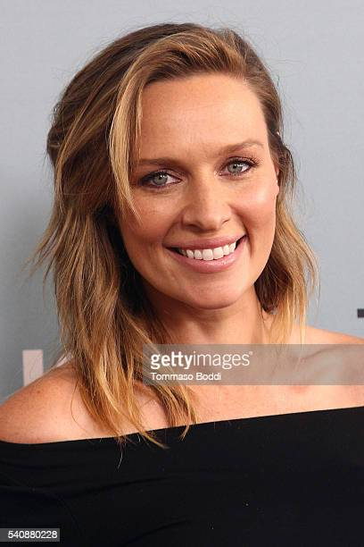 "Actress Michaela McManus attends the premiere of NBC's ""Aquarius"" Season 2 held at The Paley Center for Media on June 16, 2016 in Beverly Hills,..."