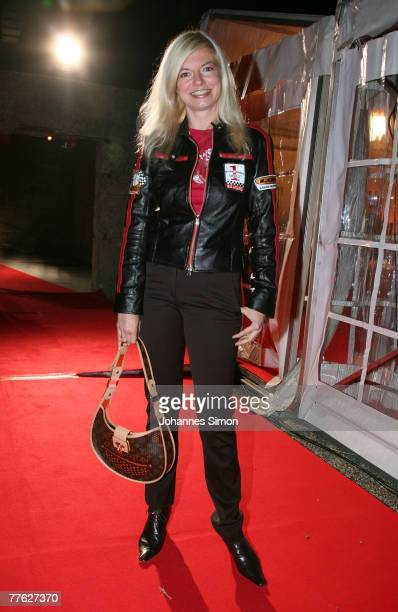 Actress Michaela Merten attends the BMG After Show Party of the MTV Europe Music Awards on November 1 2007 in Munich Germany