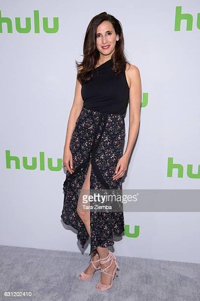 Actress Michaela Watkins attends the 2017 Hulu Television Critics Association winter press tour at Langham Hotel on January 7, 2017 in Pasadena,...